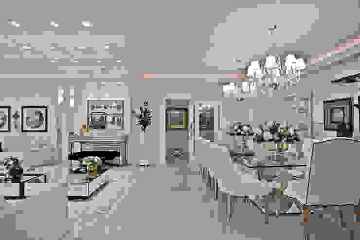 Apartamento: Salas de jantar  por Spengler Decor