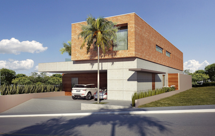 Modern home by Lozí - Projeto e Obra Modern