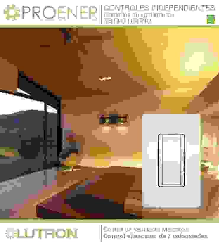 La ambientación perfecta para cada ocasión Dormitorios modernos de PROENER Moderno