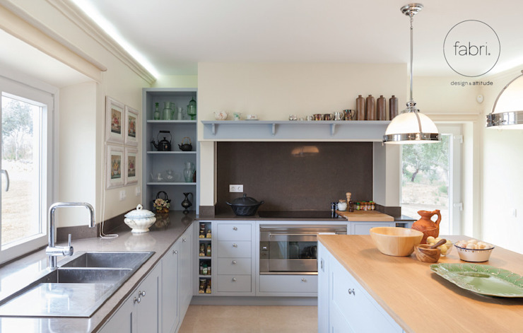Kitchen by FABRI, Country