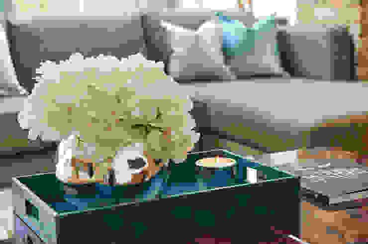 Mews House Notting Hill Salas de estar modernas por Yohan May Design Moderno