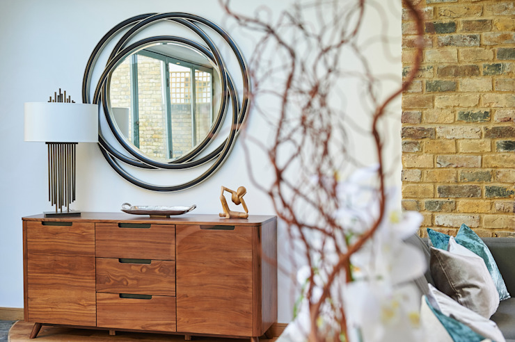 Mews House Notting Hill Corredores, halls e escadas modernos por Yohan May Design Moderno