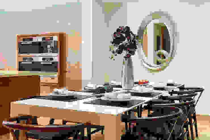 Mews House Notting Hill Salas de jantar modernas por Yohan May Design Moderno