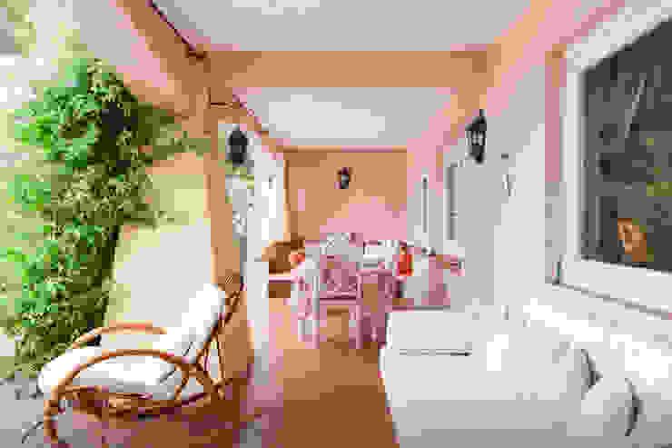 de Tania Mariani Architecture & Interiors Mediterráneo Bambú Verde