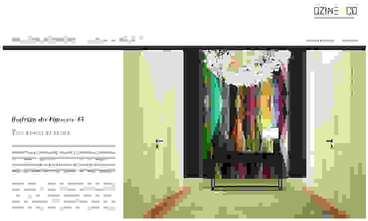 The Spirit of Light Corredores, halls e escadas modernos por DZINE & CO, Arquitectura e Design de Interiores Moderno