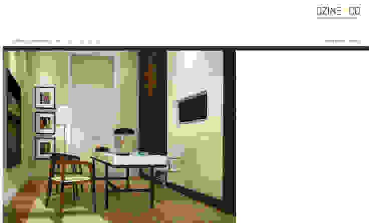 The Spirit of Light Escritórios modernos por DZINE & CO, Arquitectura e Design de Interiores Moderno
