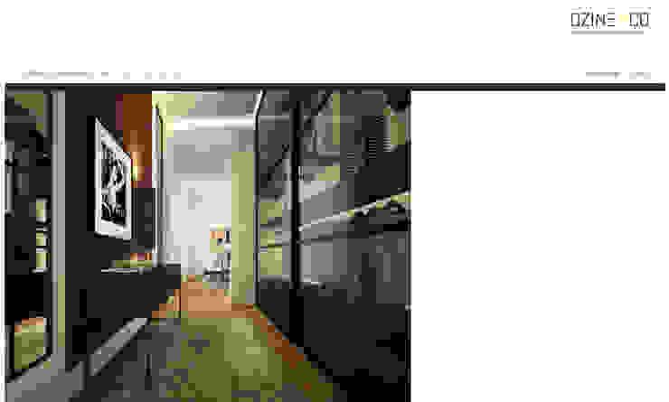 The Spirit of Light Closets modernos por DZINE & CO, Arquitectura e Design de Interiores Moderno