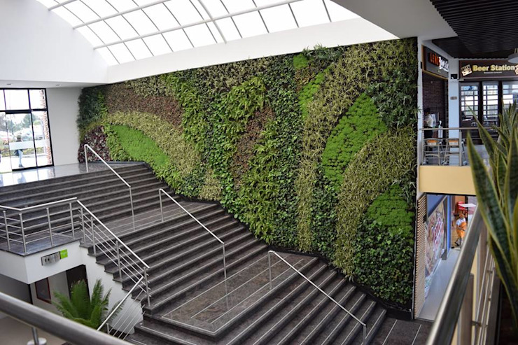 Green Hills: Jardines de estilo  por Verde & Verde Ingenieros & Arquitectos SAS