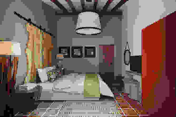 Small Hotel - Costa Algarvia: Hotéis  por DZINE & CO, Arquitectura e Design de Interiores,Campestre