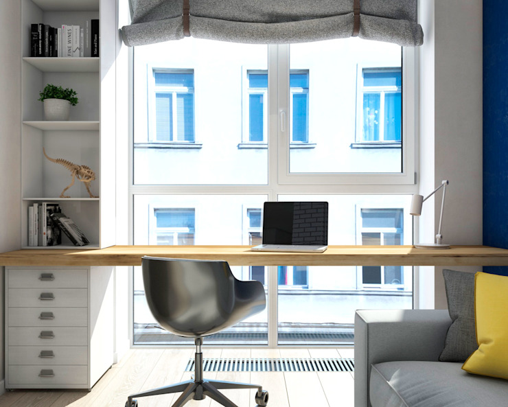 Study/office by tatarintsevadesign, Modern