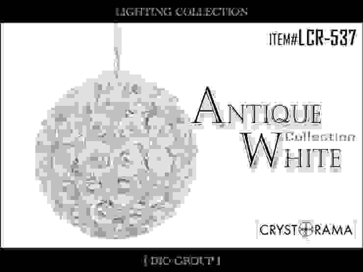 アンティークホワイト1灯ペンダントライト: 株式会社ディオが手掛けたクラシックです。,クラシック