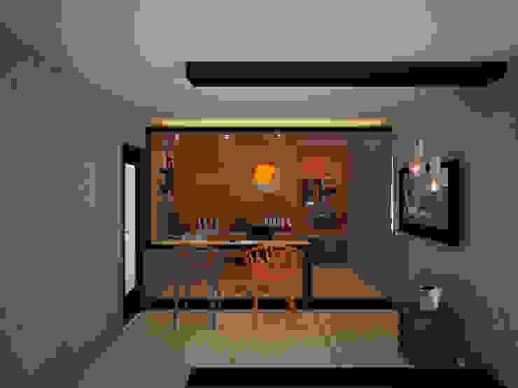 Oficina interior:  de estilo industrial por Constructora Asvial S.A de C.V., Industrial Hierro/Acero
