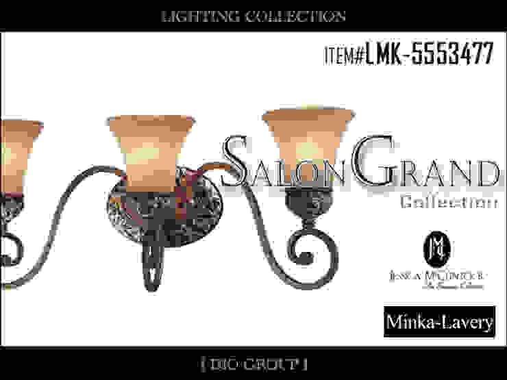 サロングランド3灯ウォールライト/ブラケット照明: 株式会社ディオが手掛けたコロニアルです。,コロニアル