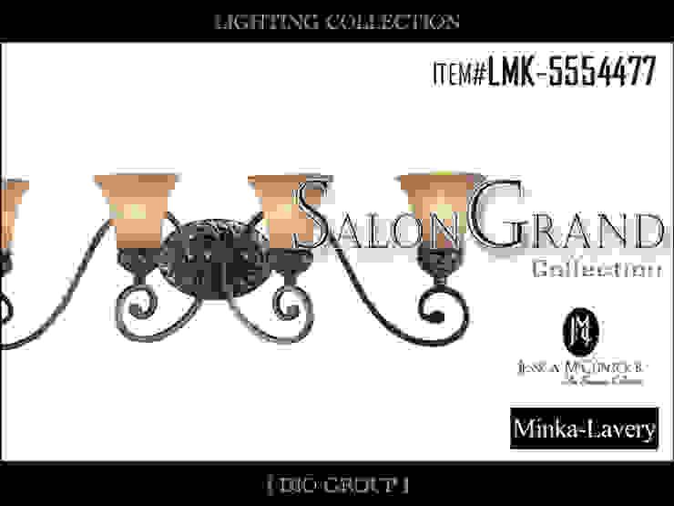 サロングランド4灯ウォールライト/ブラケット照明: 株式会社ディオが手掛けたコロニアルです。,コロニアル
