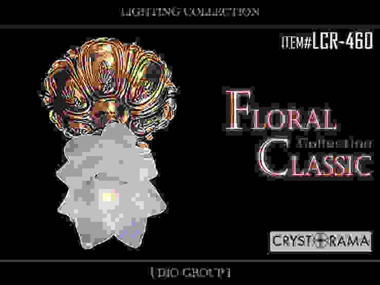 フローラルクラシック1灯シーリングライト: 株式会社ディオが手掛けたクラシックです。,クラシック
