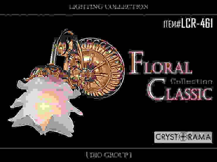 フローラルクラシック1灯ウォールライト/ブラケット照明: 株式会社ディオが手掛けたクラシックです。,クラシック