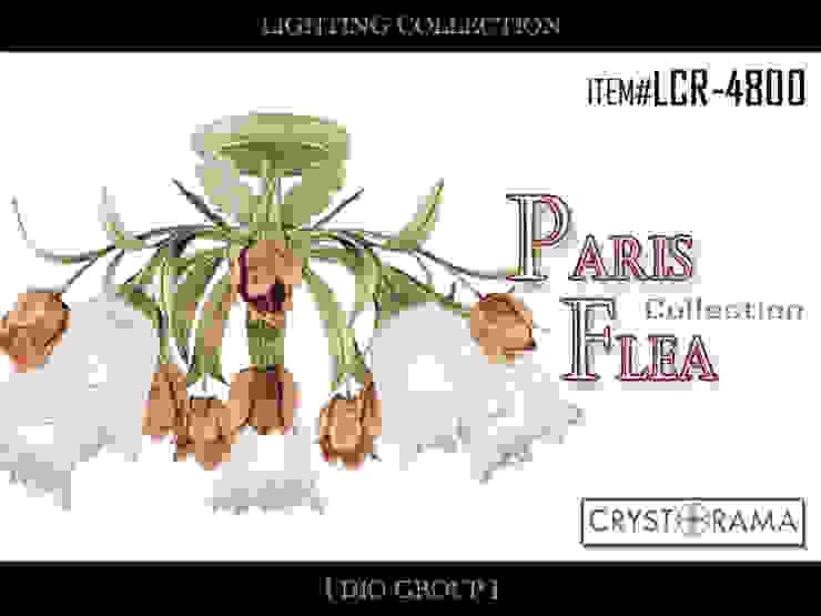 パリスフレア5灯立体シーリングライト: 株式会社ディオが手掛けたクラシックです。,クラシック