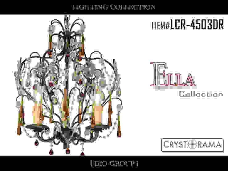 エラ3灯シャンデリア(アップ型): 株式会社ディオが手掛けたクラシックです。,クラシック