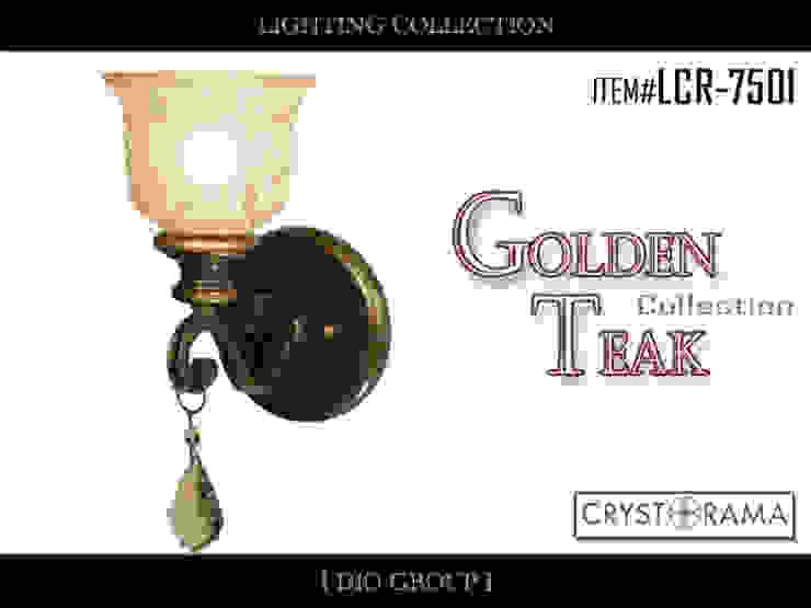 ゴールデンチーク1灯ウォールライト/ブラケット照明: 株式会社ディオが手掛けたクラシックです。,クラシック