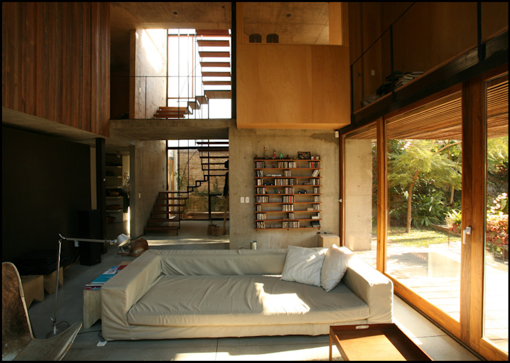 Гостиная в стиле кантри от Arquitecto Alejandro Sticotti Кантри