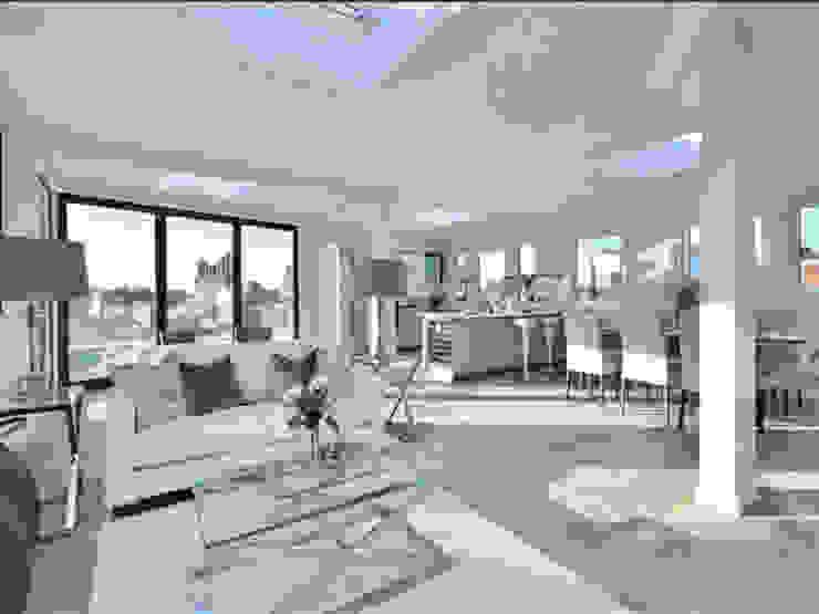 Camden Penthouse Moderne Wohnzimmer von Boutique Modern Ltd Modern