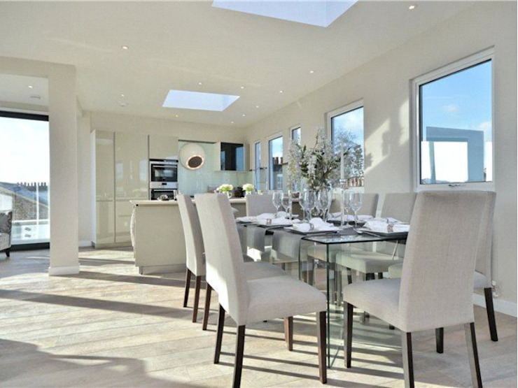 Camden Penthouse Modern dining room by Boutique Modern Ltd Modern