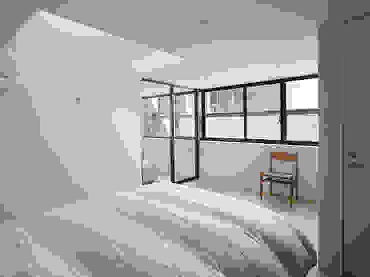 作品 モダンスタイルの寝室 の 小松隼人建築設計事務所 モダン