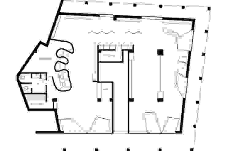 Loja IN! Espaços comerciais modernos por mube arquitectura Moderno