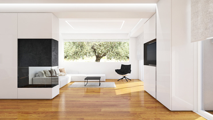 Living room by DFG Architetti, Modern
