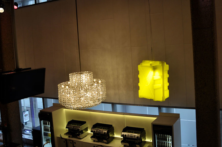 Wormkrat lampen Industriële woonkamers van Studio Made By Industrieel