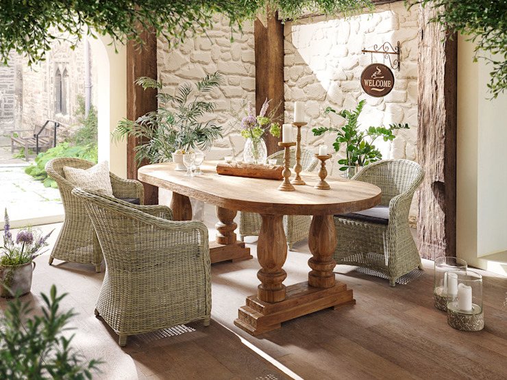 Caracas Kenia von Sunchairs GmbH & Co.KG Klassisch Holz Holznachbildung