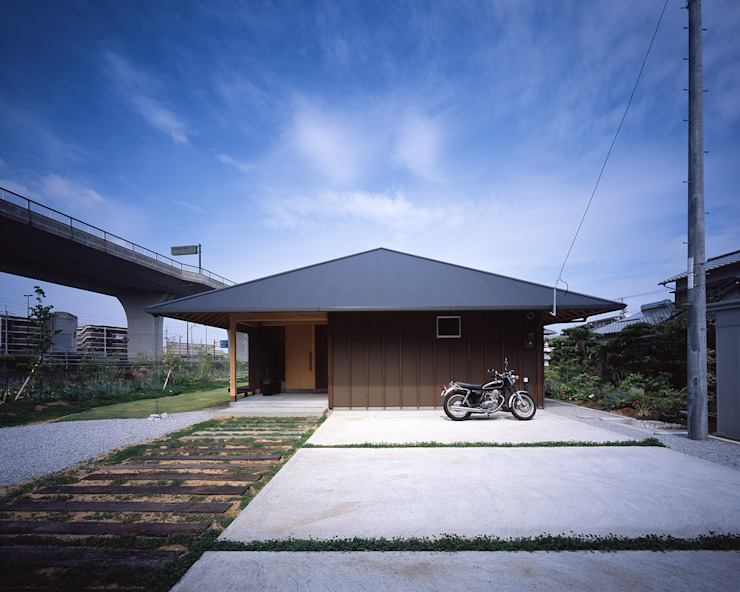 Asian style houses by TENK Asian Wood Wood effect