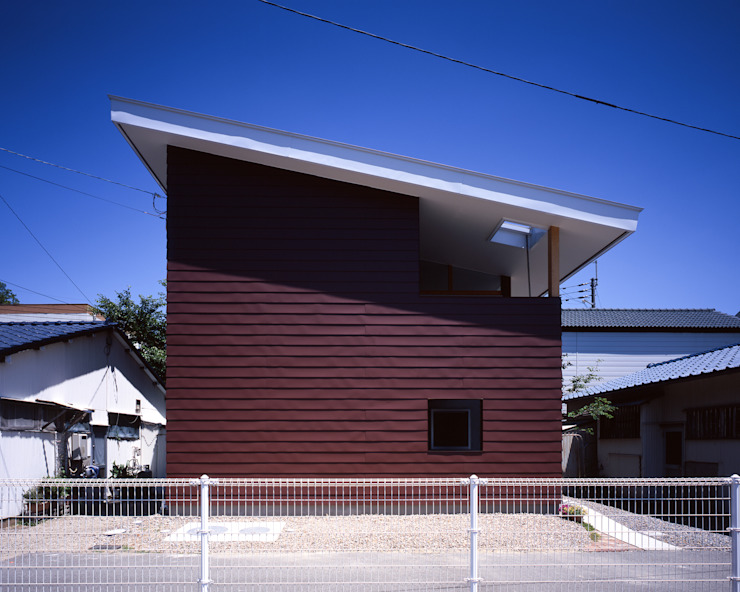 Houses by TENK, Modern Iron/Steel