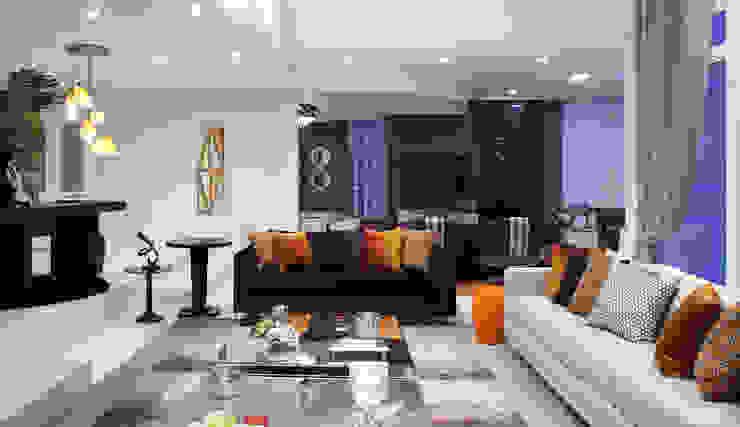 Salas de estilo  por Studio 262 - arquitetura interiores paisagismo, Moderno