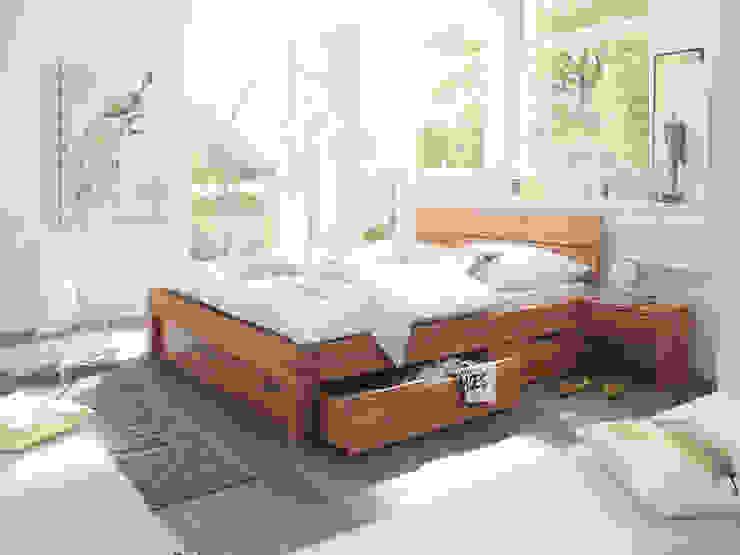 HOMBY Sunchairs GmbH & Co.KG SchlafzimmerBetten und Kopfteile Holz