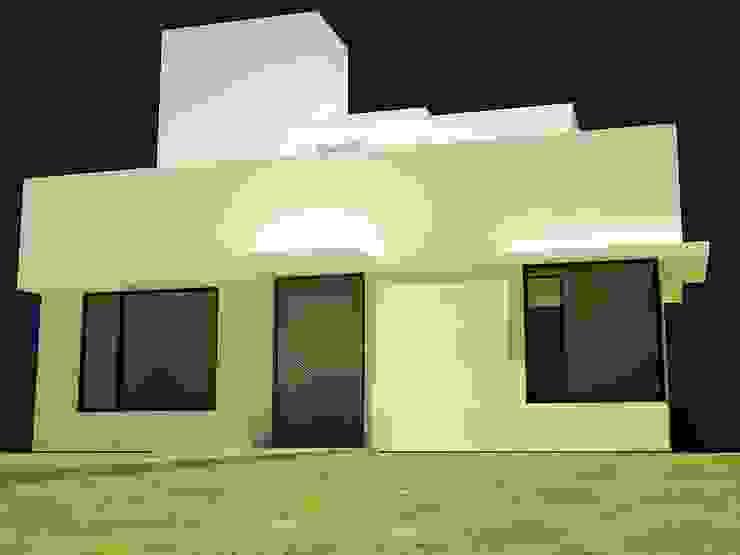 Vivienda evolutiva para crédito hipotecario Casas minimalistas de Estudio Marcos Fernandez Minimalista