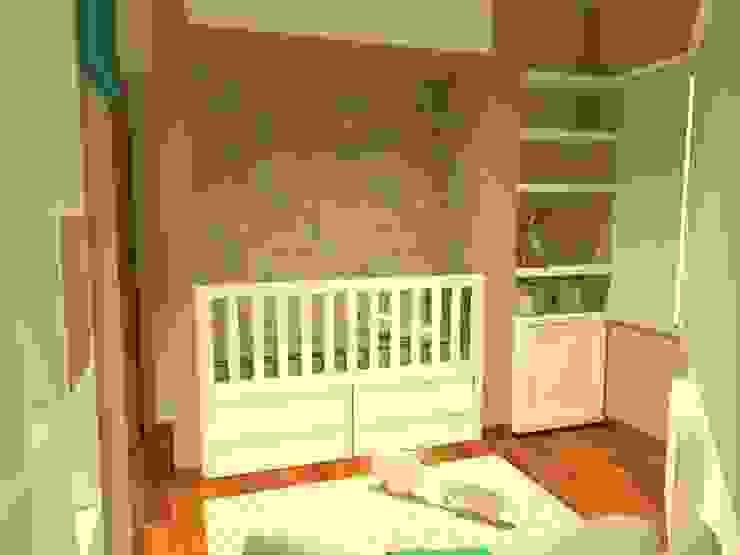 Chambre d'enfant moderne par Estudio BDesign Moderne Bois Effet bois