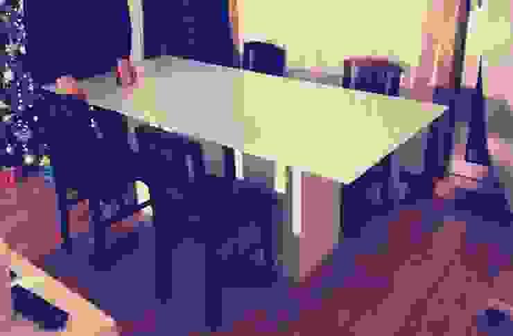 - Base para mesa de jantar por Pode Ser! Moderno MDF