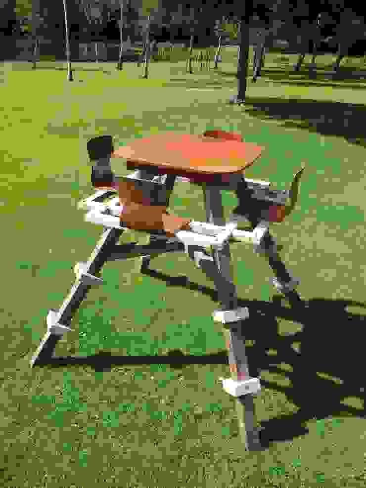 Hoge Picknick Tafel Industriële tuinen van Studio Made By Industrieel Hout Hout