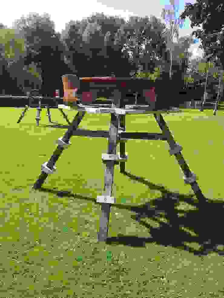 Hoge Picknick Tafel van Studio Made By Industrieel Hout Hout