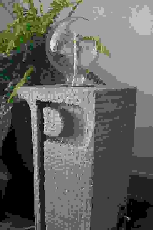 """Candeeiro """" i """"  em cimento e madeira.:  industrial por Pode Ser!,Industrial Pedra"""