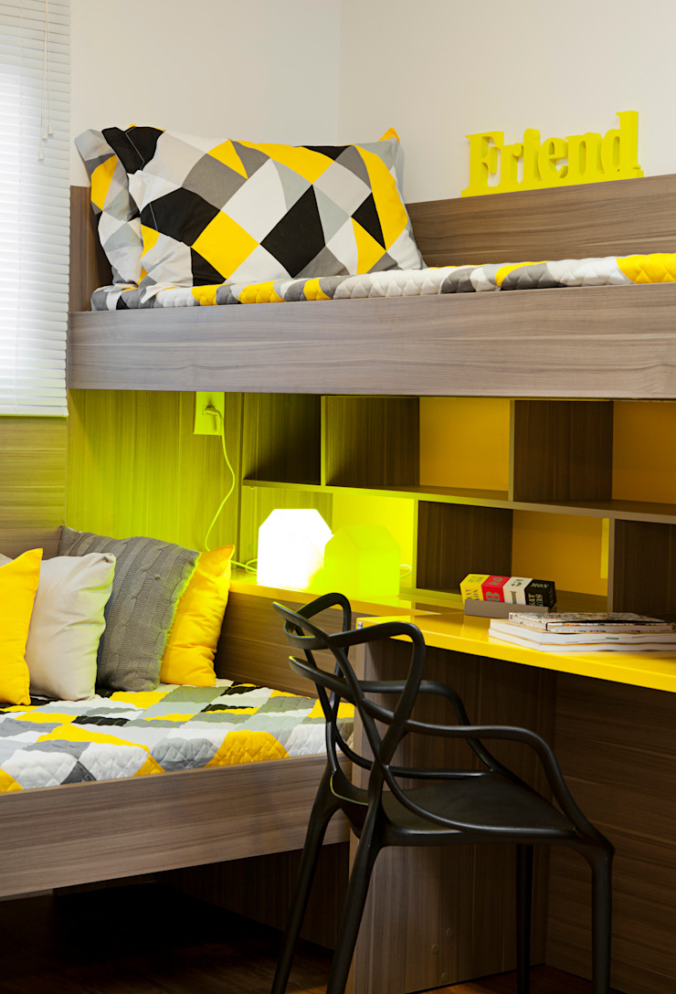 Modern Kid's Room by carolina lisot arquitetura Modern