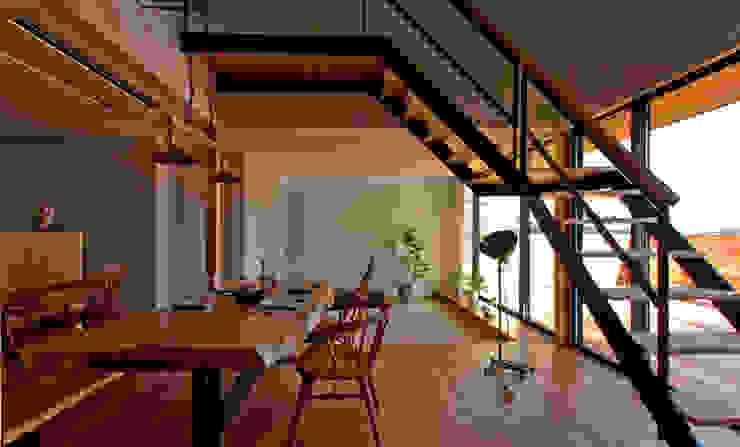 エイチ・アンド一級建築士事務所 H& Architects & Associates의  다이닝 룸