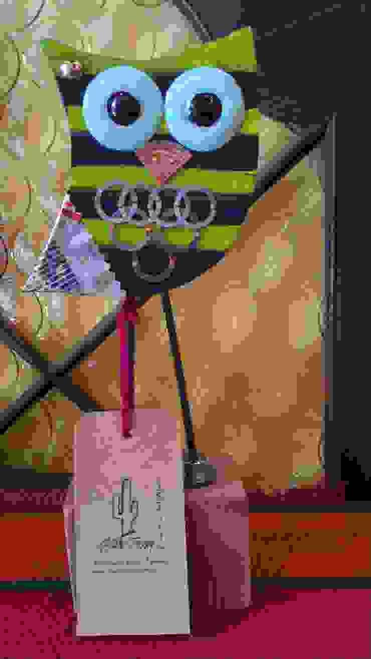 Lechuzas de Madre tierra -Diseños del Alma Rústico Madera Acabado en madera