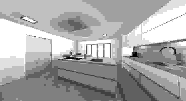 ILHA por Area design interiores Moderno