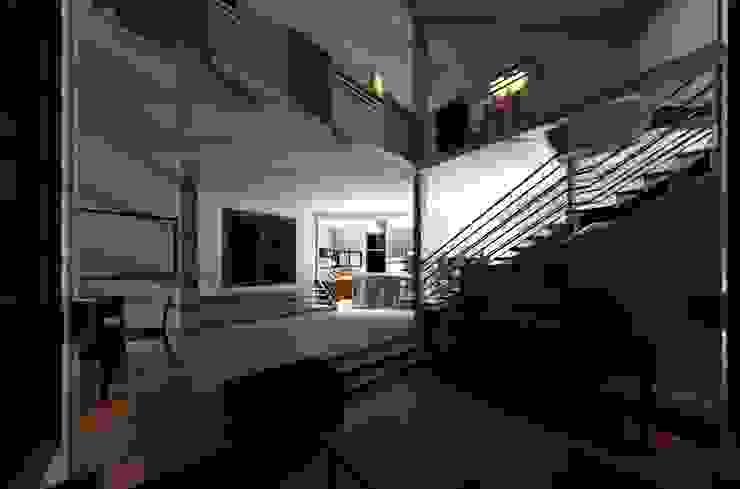 Pasillos, vestíbulos y escaleras modernos de Diseño Store Moderno Metal
