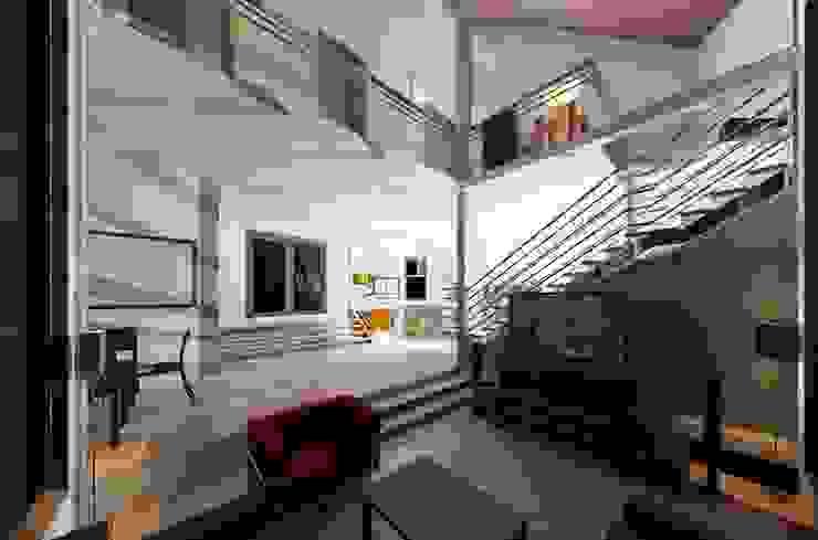 Pasillos, vestíbulos y escaleras modernos de Diseño Store Moderno