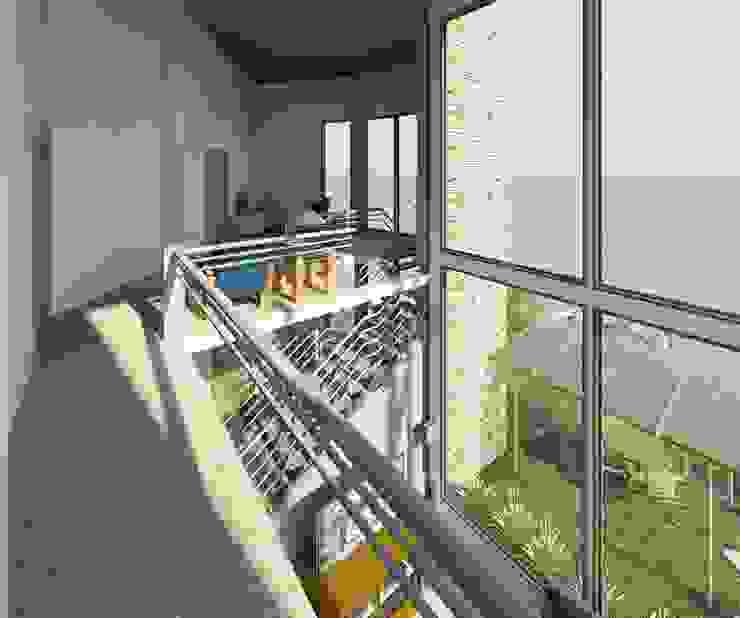 Balcones y terrazas modernos de Diseño Store Moderno Hierro/Acero