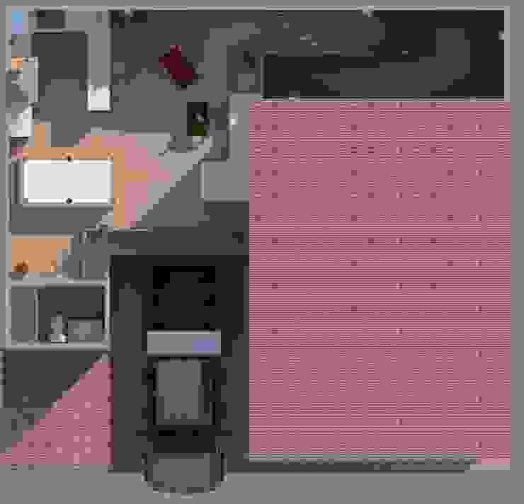 Área de recreacion Casas modernas de Diseño Store Moderno