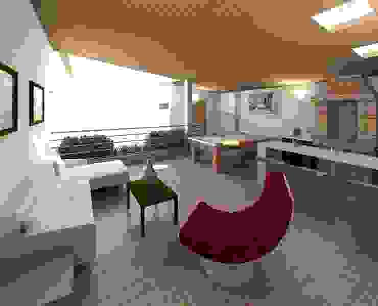 Diseño de área recreacional Balcones y terrazas de estilo moderno de Diseño Store Moderno